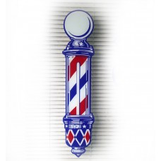 Large Barber Pole Decal  (30 1/2