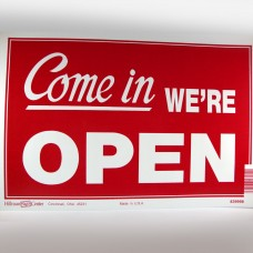 Economy Open/Close Reversible Sign (12